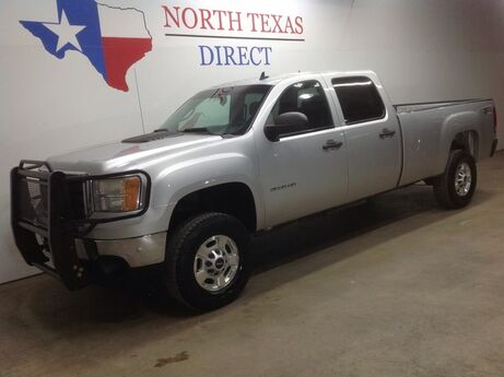 2011 GMC Sierra 2500HD FREE DELIVERY SLE Z-71 4x4 Crew Diesel Allison Bluetooth 5th Wheel Mansfield TX