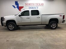 2011_GMC_Sierra 2500HD_SLT 4x4 Gps Navigation Heated Leather Back Up Cam Crew Cab_ Mansfield TX