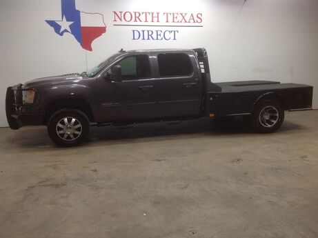 2011 GMC Sierra 3500HD FREE HOME DELIVERY! SLT Diesel 4x4 Dually Flatbed Leather Mansfield TX