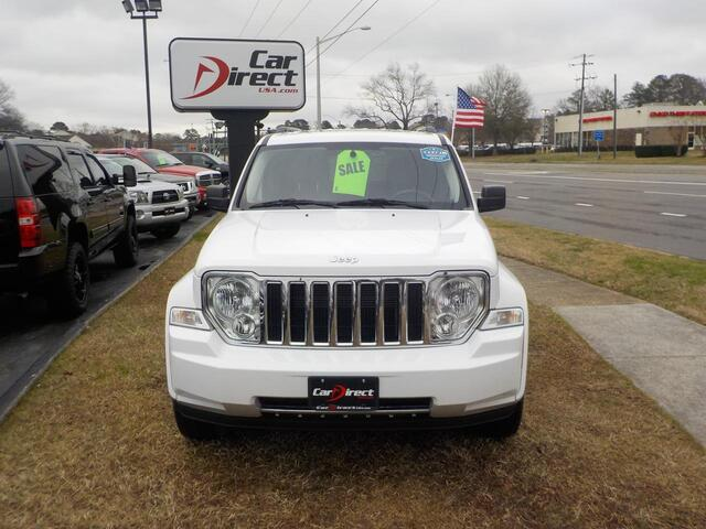 2011 JEEP LIBERTY LIMITED 4X4, BUY BACK GUARANTEE AND WARRANTY, NAVI, DVD, TOW PGK,ROOF RACKS, ONLY 87K MILES! Virginia Beach VA