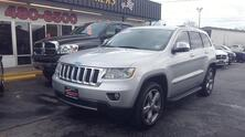 JEEP GRAND CHEROKEE OVERLAND 4X4, CARFAX CERTIFIED, NAV, DVD, SAT, REMOTE START, SUNROOF, BLUETOOTH, ONLY 73K MILES! 2011