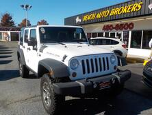JEEP WRANGLER RUBICON UNLIMITED 4X4, BUYBACK GUARANTEE, WARRANTY, HARD TOP, TOW PKG, SIRIUS RADIO, AUX PORT! 2011