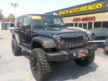 2011_JEEP_WRANGLER_UNLIMITED SPORT 4X4, BUYBACK GUARANTEE, WARRANTY, ONLY 1 OWNER, HARD TOP,LIFTED,BLUETOOTH,NICE!_ Norfolk VA