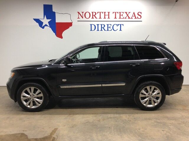 2011 Jeep Grand Cherokee 70th Anniversary Heated Leather GPS Navi Sunroof Mansfield TX