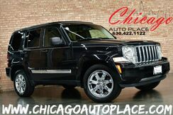 2011_Jeep_Liberty_Limited - 4WD 3.7L V6 ENGINE BLACK LEATHER HEATED SEATS SKYSLIDER ROOF BLUETOOTH WOOD GRAIN INTERIOR TRIM_ Bensenville IL