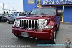 2011_Jeep_Liberty_Limited / 4X4 / Heated & Power Leather Seats / Auto Start / Sunroof / Navigation / Infinity Stereo / Bluetooth / Tow Pkg / 1-Owner_ Anchorage AK