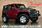 2011 Jeep Wrangler Sport - 4WD LIFTED SUSPENSION FRONT MOUNTED LED LIGHTS RUGGED RIDGE WINCH CUSTOM HOOD BLUETOOTH