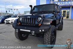 2011_Jeep_Wrangler Unlimited_70th Anniversary / 4X4 / Hardtop / 6-Spd Manual / Lifted / Safari Snorkel / Hooke Road Bumpers / LED Lights / Heated Leather Seats / Infinity Speakers / Navigation / Bluetooth / Tow Pkg / Only 58K Miles / 1-Owner_ Anchorage AK