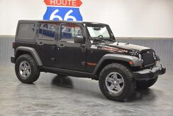 2011_Jeep_Wrangler Unlimited_RUBICON 4WD 'ONLY 62,900 MILES' LEATHER LOADED MINT_ Norman OK