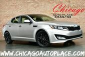 2011 Kia Optima EX - 2.4L GDI I4 ENGINE FRONT WHEEL DRIVE KEYLESS GO TAN LEATHER INTERIOR DUAL ZONE CLIMATE BLUETOOTH BLACK WHEELS