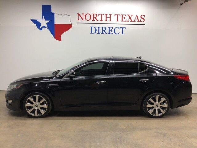 2011 Kia Optima SX GDI Turbo Heated Leather Sunroof Aux Cord Texas Owned Mansfield TX