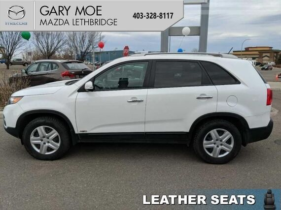 2011_Kia_Sorento_EX  - Bluetooth, AWD, Leather - $150.35 B/W_ Lethbridge AB