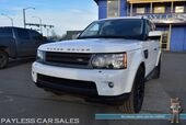 2011 Land Rover Range Rover Sport HSE / 4WD / 5.0L V8 / Air Ride Suspension / Power Leather Seats / Navigation / Sunroof / Harman Kardon Speakers / Bluetooth / Back Up Camera / Keyless Entry & Start / HID Headlights / Low Miles