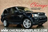 2011 Land Rover Range Rover Sport HSE LUX - 4WD 5.0L V8 ENGINE BLACK LEATHER NAVIGATION TOP VIEW CAMERAS KEYLESS GO HEATED SEATS HARMAN/KARDON AUDIO