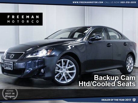 2011_Lexus_IS 350_AWD Nav Backup Cam Htd/Cooled Seats_ Portland OR