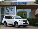2011 Lexus LX 570 Luxury Nav Rear DVD AWD MSRP $90,453