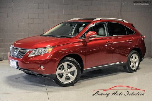2011 Lexus RX 350 AWD With Navigation 4dr SUV Chicago IL