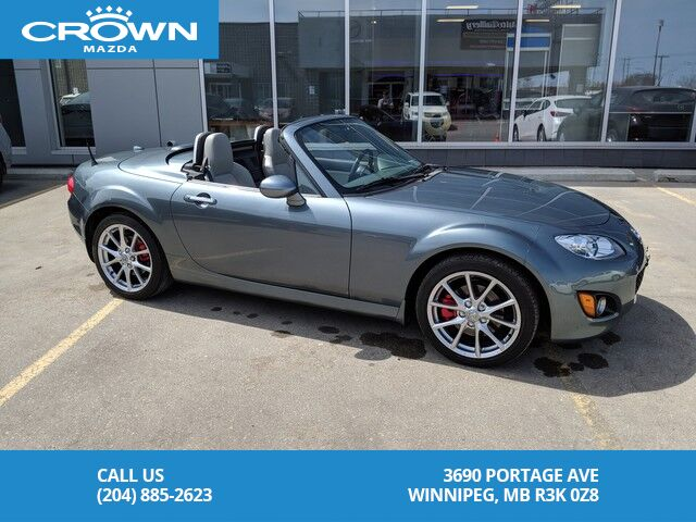 2011 Mazda Mx 5 Gt Convertible Hard Top 6 Speed Clean Carproof Extremely Low Kms Winnipeg Mb