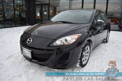 2011_Mazda_Mazda3_i Sport / Automatic / Power Locks & Windows / Aux Jack / Air Conditioning / 33 MPG / Only 28k Miles / 1-Owner_ Anchorage AK