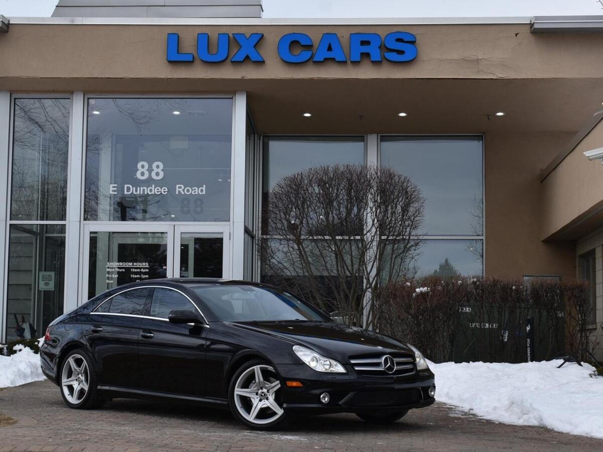 2011_Mercedes-Benz_CLS550_Sport Nav P1 MSRP $81,845_ Buffalo Grove IL