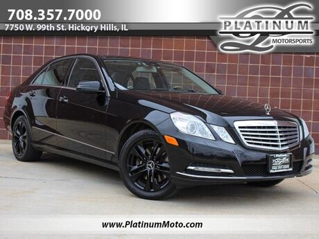 2011 Mercedes-Benz E 350 4Matic P2 Pkg Pano Navi Keyless Books Serviced Hickory Hills IL