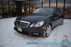 2011_Mercedes-Benz_E 550_Sport / 4Matic AWD / Heated & Cooled Leather Seats / Heated Steering Wheel / Navigation / Sunroof / Harman Kardon Speakers / Adaptive Cruise / Blind Spot Alert / Bluetooth / KEYLESS GO Pkg / Low Miles_ Anchorage AK