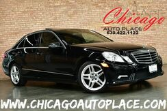 2011_Mercedes-Benz_E-Class_E 350 4MATIC Sport - 3.5L V6 ENGINE ALL WHEEL DRIVE AMG SPORT PACKAGE REAR TV'S NAVIGATION BACKUP CAMERA DYNAMIC SEATING SUNROOF BLACK LEATHER HEATED SEATS_ Bensenville IL