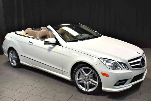 2011 Mercedes-Benz E-Class E 550 Cabriolet Easton PA