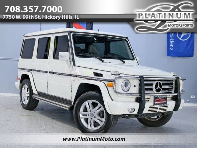 2011 Mercedes-Benz G550 1 Owner Nav Roof Leather Back Up Camera Hickory Hills IL