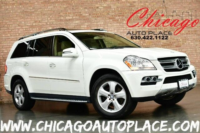 2011 Mercedes-Benz GL-Class GL 450 - 4.6L V8 ENGINE 4MATIC ALL WHEEL DRIVE NAVIGATION BACKUP CAMERA PANO ROOF 3RD ROW PARKING SENSORS TAN LEATHER HEATED SEATS Bensenville IL