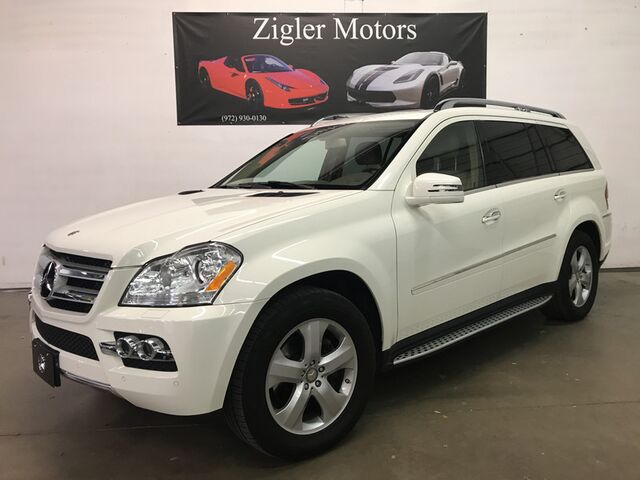 2011 Mercedes-Benz GL-Class One Owner Clean Carfax Low miles GL 450 4Matic White GL Appearance Pkg Prem Pkg Addison TX