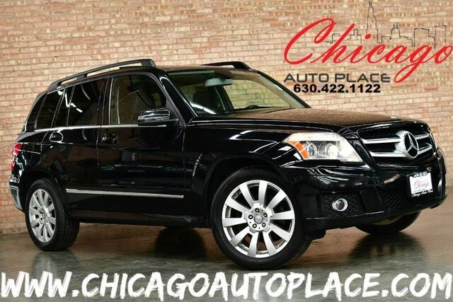 2011 Mercedes-Benz GLK-Class GLK 350 - 4MATIC 3.5L V6 ENGINE ALL WHEEL DRIVE BLACK LEATHER HEATED SEATS PANO ROOF WOOD GRAIN INTERIOR TRIM BLUETOOTH POWER LIFTGATE Bensenville IL