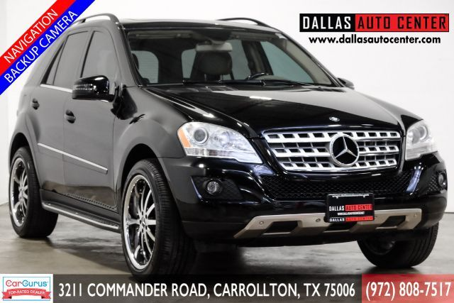 2011 Mercedes-Benz M-Class ML350 Carrollton TX