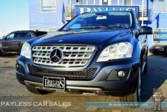 2011_Mercedes-Benz_ML350_/ 4Matic AWD / Power & Heated Leather Seats / Sunroof / Navigation / Back-Up Camera / Bluetooth / Luggage Rack / Only 35K Miles_ Anchorage AK