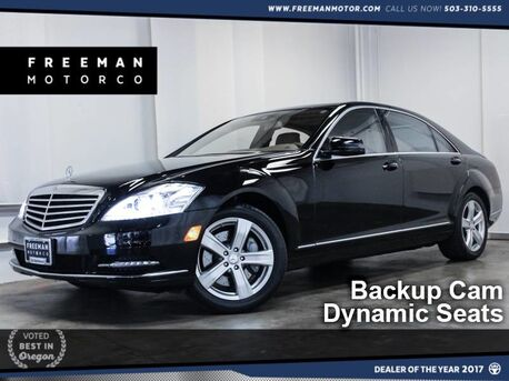 2011_Mercedes-Benz_S 550_4MATIC Backup Cam Massage Seats_ Portland OR