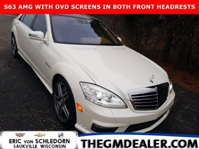 2011 Mercedes-Benz S-Class S 63 AMG w/PanoramaSunroof Nav DVDsInHeadrests 20s Milwaukee WI