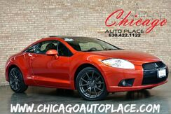 2011_Mitsubishi_Eclipse_GS Sport - 1 OWNER BLACK LEATHER HEATED SPORT BUCKET SEATS SUNROOF XENONS PREMIUM GRAY ALLOY WHEELS_ Bensenville IL