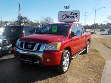2011_NISSAN_TITAN_SL 4X4, BUY BACK  GUARANTEE AND WARRANTY, NAV, DVD, SUNROOF, BED LINER, BEAUTIFUL RED!!_ Virginia Beach VA