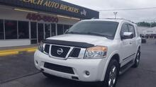 2011_NISSAN_ARMADA_PLATINUM 4X4, AUTOCHECK CERTIFIED, LEATHER, DVD, NAVIGATION, LOADED, EXTRA CLEAN, ONLY 88K MILES!_ Norfolk VA
