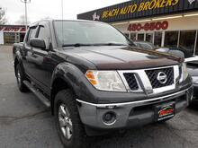 2011_NISSAN_FRONTIER_SV CREW CAB 4X4, WARRANTY, MANUAL, RUNNING BOARDS, TOW PKG, BLUETOOTH, KEYLESS ENTRY,THEFT RECOVERY!_ Norfolk VA