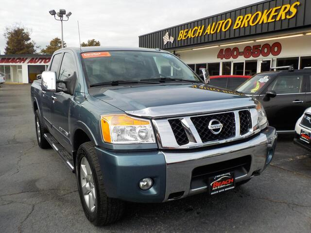 2011 NISSAN TITAN SL 4X4, BUYBACK GUARANTEE, WARRANTY , LEATHER, NAV, DVD PLAYER, HEATED SEATS, ONLY 1 OWNER!!! Norfolk VA