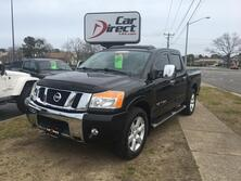 NISSAN TITAN SL CREW CAB 4X4, AUTOCHECK CERTIFIED, HEATED LEATHER SEATS, NAVIGATION, TOW PACKAGE, ONLY 79K MILES! 2011