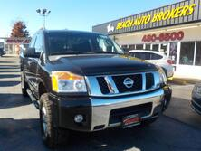 NISSAN TITAN SV 4X4, BUYBACK GUARANTEE, WARRANTY,  RUNNING BOARDS, TONNEAU COVER, AUX PORT, ONLY 1 OWNER!! 2011