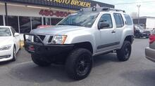 2011_NISSAN_XTERRA_PRO-4X 4X4, AUTOCHECK CERTIFIED, LIFTED, SAT, ROOF RACKS, TOW PKG, AUX PORT, LEATHER, ONE OF A KIND!_ Norfolk VA