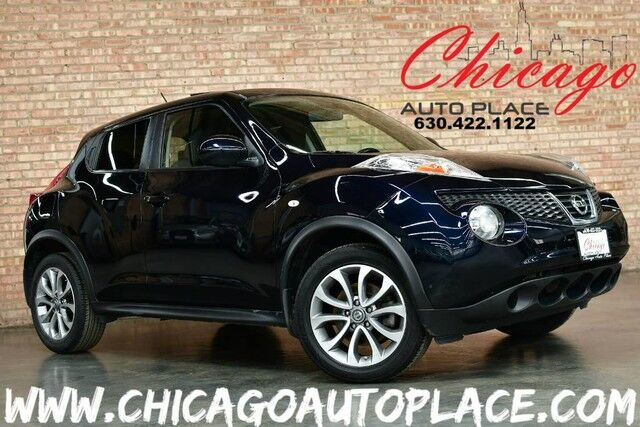 2011 Nissan JUKE SV - 1.6L 4-CYL ENGINE FRONT WHEEL DRIVE BLACK CLOTH INTERIOR NAVIGATION KEYLESS GO SUNROOF BLUETOOTH CLIMATE CONTROL Bensenville IL