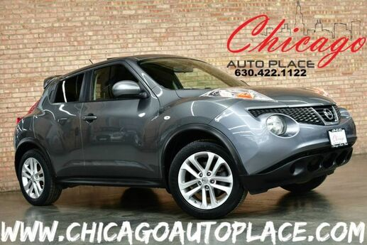 2011 Nissan JUKE SV - AWD 1.6L TURBOCHARGED I4 ENGINE NAVIGATION SUNROOF KEYLESS GO BLACK CLOTH INTERIOR DUAL ZONE CLIMATE Bensenville IL