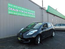 2011_Nissan_LEAF_SL_ Spokane Valley WA