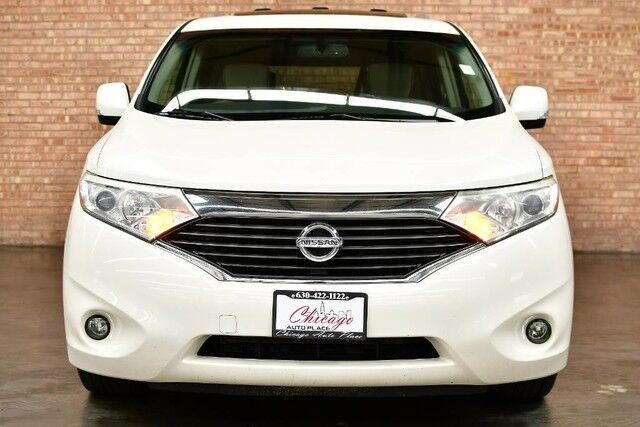 2011 Nissan Quest LE - 3.5L V6 ENGINE FRONT WHEEL DRIVE NAVIGATION BACKUP CAMERA TAN LEATHER HEATED SEATS KEYLESS GO PANO ROOF REAR TV 3RD ROW BOSE AUDIO Bensenville IL