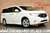 2011 Nissan Quest LE - 3.5L V6 ENGINE FRONT WHEEL DRIVE NAVIGATION BACKUP CAMERA TAN LEATHER HEATED SEATS KEYLESS GO PANO ROOF REAR TV 3RD ROW BOSE AUDIO
