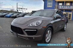 2011_Porsche_Cayenne_Turbo / AWD / 4.8L Twin-Turbo V8 / Air Suspension / Heated & Cooled Leather Seats / Navigation / Sunroof / Burmester Speakers / Rear DVD / Bluetooth / Back Up Camera_ Anchorage AK